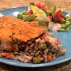 Super Veggie Chicken and Wild Rice Casserole - This chicken and wild rice casserole has lots of veggies, and it appeals to even the pickiest eaters.