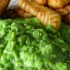Mushy Peas I - Mushy Peas are a great side dish with entrees such as fried cod or savory salmon, and sides like tater tots. Note: You can add more liquid (water or cream) depending how mushy you want your peas. Use low fat milk if you're calorie-conscious.