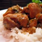 Trinidad Stewed Chicken - Chicken is browned and simmered in a spicy coconut sauce. Adjust the amount of hot pepper to suit your taste. This dish goes with anything.