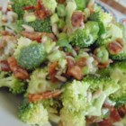 Broccoli and Bacon Salad - Broccoli bacon salad with sunflower seeds is dressed in a tangy dressing with a little less mayonnaise than the traditional recipe for broccoli salad.