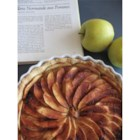 French Apple Tart (Tarte de Pommes a la Normande) - This is a marvelous apple tart that can be made in a pie plate or tart pan if you have one. A frangipane filling really brings together the flavors of fall, and the apples create a beautiful design.