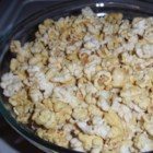 """Doritos(R)"" Popcorn - Popcorn is coated with nutritional yeast, garlic powder, onion powder, and salt creating a Doritos(R)-flavored popcorn for a quick and easy snack."