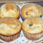 Bran Flakes Muffins with Raisins - These muffins are made pleasantly nutritious with bran flakes with raisins.