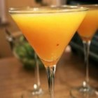 Wallaby-Darned - This peachy, frozen delight is made from peach schnapps, vodka, and champagne.