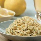 Barilla(R) Spaghetti with Lemon, Parmigiano Reggiano and Basil - This delightfully simple dish combines Barilla(R) Spaghetti pasta with a quick lemon, Parmigiano-Reggiano, and basil sauce.
