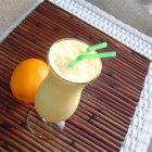 Easy Orange Cream Slush - This is a simple and delicious recipe for a cool and creamy orange drink.