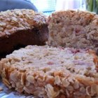 Oatmeal Strawberry Bread - Strawberries, oatmeal, and cinnamon flavor this delicious quick bread.