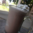 Frozen Hot Chocolate - Frozen hot chocolate is a fun treat for hot summer days when you are craving the taste of hot chocolate but want a cold drink.