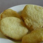Portuguese Fried Bread - These fried plain flatbreads are soft and chewy -a tasty alternative to regular dinner rolls.