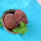 Easy Chocolate Sherbet - Sherbet? Chocolate? Sounds weird but tastes delicious. It's something really luxurious for chocolate lovers. Serve garnished with mint leaf, orange peel strips, or strawberries.