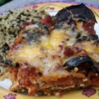 Eggplant Parmesan I - Wonderful directions for preparing eggplant if you've never done it before.  The eggplant is layered in a large pan with marinara sauce, mozzarella, ricotta and Parmesan cheese. This it 's baked until the cheese topping is golden.