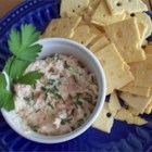 Best Ever Shrimp Dip - Like shrimp salad, but thicker and heartier, this dip showcases the fresh taste of seafood.