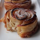 Baked Apple Roses - Chef John rolls apple slices in puff pastry to form rose shapes which are baked in individual ramekins for pretty and delicious baked apple roses.