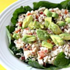 Wholewheat Tuna Treat - A succulent whole wheat tuna dish with bacon and avocado. Serve as a meal or as a salad.