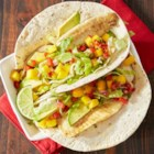 Fish Tacos from Reynolds Wrap(R) - Fish tacos have never been easier and clean up's a breeze when you cook tilapia fillets in a foil-lined pan.