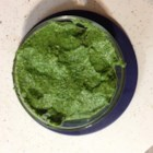 Swiss Chard and Pecan Pesto - This version of pesto uses pecans in place of pine nuts and Swiss chard in addition to basil.