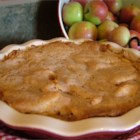 Easy Swedish Apple Pie - This is a lovely, tart apple pie covered with a sweet, cinnamon crust.