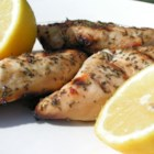Jenny's Grilled Chicken Breasts - This is the recipe that my friends and family still beg me to make when the grill is brought out. It's so easy and versatile, and can be tried on several different meats. I like it with scalloped potatoes, baked potatoes or rice pilaf. Try it with cilantro or oregano instead of parsley. Save leftovers for salad the next day.