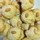 Nutty-Boy Peanut Cookies - This recipe is very simple but sometimes the mixture might not be stiff enough or stick to the board.  So you have to sprinkle flour to the mixture until it is stiff enough and will not stick on your fingers.