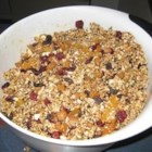 "Granola - Yummy granola!  I learned this recipe while working at a Bed and Breakfast in DC.  All credit goes to ""Little Miss Mary!"" This recipe calls for 8 ounces of almonds but we recommend using any nuts you desire -- they are all delicious!"
