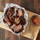 Grilled BBQ Short Ribs with Dry Rub - Foil packets make these ribs fall-off-the-bone tender and keep all the savory flavor inside.