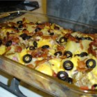 Baked Potato Salad I - Is this a baked potato salad or a cheese and potato casserole? Try this recipe and decide for yourself.