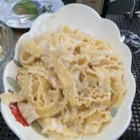 Gorgonzola Sauce - Simple but complex cream sauce with gorgonzola cheese and a hint of nutmeg.