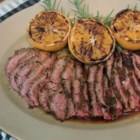 Garlic Fennel Flank Steak with Oranges  - Chef John's recipe for garlic fennel flank steak with oranges draws inspiration from Italian, Spanish, and Chinese cuisine.