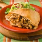 BBQ Chicken Calzones Recipe