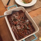 Mongolian Beef from the Slow Cooker - Whether you freeze this mixture of beef and carrots in a sweet-and-savory Asian-style sauce or put it straight into the slow cooker, it's easy and delicious!