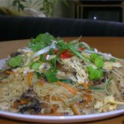 Shrimp Fried Noodles-Thai style - Try this very popular Thai dish, good for lunch, supper or anytime you crave something exotic with a little tang!