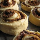 Cinnamon Rolls II - Your bread machine does the mixing -- all you have to do is roll out the dough, coat it with butter, cinnamon sugar and raisins or walnuts, roll it up and pop them in the oven.  A powdered sugar icing seals the deal for these prize-winning rolls.