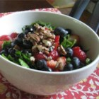 Spinach Salad With Berries and Curry Dressing - This recipe is packed with brain boosters like spinach, strawberries and pecans. It also has a delightful curry dressing.