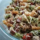 Rainbow Pasta Salad II - This is a really quick and easy pasta salad. Great for picnics and BBQ's.