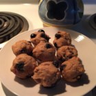 Applesauce Wheat Blueberry Muffins - These are great! I use dried blueberries, and sometimes I put in fresh chopped apples and cinnamon. These are sweet and nutritious; a good breakfast or snack!