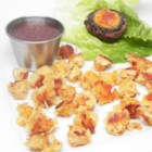 Potato-Crusted Scallops - This simple recipe is so tasty, people won't believe there are only two ingredients!