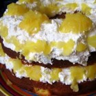 Pig Pickin' Cake - Wonderful cake.  Easy to make. Three layers topped with cool whip(TM)  and pineapple.  Got recipe from lady in Tennessee mountains
