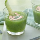 Chilled Cucumber Soup - A refreshing cucumber and yogurt soup helps you keep your cool on a hot summer's day. Just blend the simple ingredients and serve cold for a light starter.