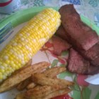 Soy Garlic Steak - A soy sauce and garlic mixture makes for one tasty flank steak marinade.