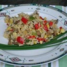 Roasted Corn and Basmati Rice Salad