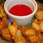 Grandma's Crispy Pork Wontons - Grandma's crispy wontons are filled with pork, celery, carrots and a blend of spices, then deep fried to perfection!