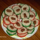 Cream Cheese Christmas Cookies - These are so nice at Christmas time, they look as pretty as they taste.