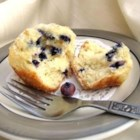 Best of the Best Blueberry Muffins - Big Blueberry muffins with a crusty sugar topping. A recipe I got from my Grandma. The blueberries and the sweet batter are fabulous together. Favorites of all who have tried them. Quick and easy, made with few ingredients. Remember to use paper liners!