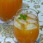 Mint Julep Iced Tea - Grandma's recipe for citrus tea using homemade simple syrup and mint is a refreshing non-alcoholic version of a mint julep iced tea.
