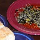 Olive Oil Dip for Italian Bread - Dip your bread in olive oil seasoned with fresh garlic, balsamic vinegar, Parmesan cheese, oregano, and pepper to accompany your next Italian meal.