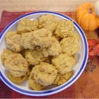 Pumpkin Cookies I - Yummy pumpkin cookies with spices and butterscotch morsels. Moist and delicious.