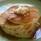 Buttermilk Pancakes II - Fresh buttermilk is the secret ingredient for light and fluffy cakes in this buttermilk pancake recipe.