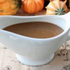Make-Ahead Marsala Turkey Gravy - Lessen the stress of your Thanksgiving dinner preparation by making this delicious Marsala turkey gravy a day ahead of time.