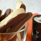 Chocolate Dipped Orange Biscotti - A delightful combination of chocolate and orange. A perfect cookie for any occasion.