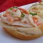 Crabmeat Salad - This recipe is so simple and tastes just like the 'deli' style. The carrot adds just the right flavor.